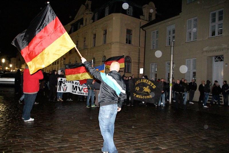 Fotogalerie Mvgida-Schwerin und Gegenproteste