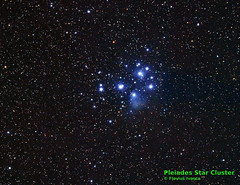 Pleiades Star Cluster (Flavius Ivașca) Tags: star cluster m45 taurus pleiades messier45 astrometrydotnet:status=solved astrometrydotnet:id=nova957934