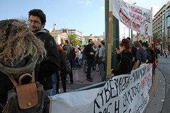 Protest march in Athens, Greece (paul.katzenberger) Tags: protest athens demonstration greece eurocrisis
