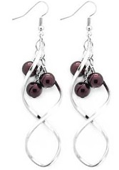Glimpse of Malibu Purple Earrings P5410A-2