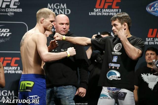 Веселые картинки с взвешивания UFC 182 11