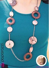 5th Avenue Brown Necklace K2 P2320-3