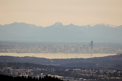 Seattle from Green Mountain