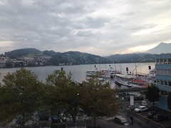 Another hotel room view lake Lucerne