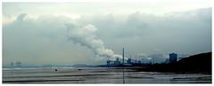 Kenfig Sands.1. (brian.batters (B-C-B)) Tags: sea beach clouds sands steelworks kenfig kenfigburrows kenfigsands