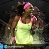 #Repost @australianopen・・・QUEEN SERENA.  Williams wins her sixth Australian Open singles title and her 19th Grand Slam after defeating Maria Sharapova 6-3 7-6(5). #ausopen   LUARBIASA 😍