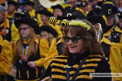 Blaskapelle mit Biene / brass band with bee (Howdys) Tags: deutschland nikon gelb fasching schwarz umzug sonnenbrille karneval biene fasnet hs badenwrttemberg schwbisch kostm verkleidung aulendorf blaskapelle fhler oberschwaben alemannisch d7100