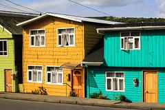 Palafitos (AgustnCarrillo) Tags: chile patagonia color america de puerto barco colores full castro casas isla chiloe chileno chilena palafitos tipicas coores