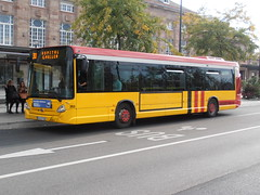 Heuliez GX327 - Number 30 Route - Mulhouse (jambox998) Tags: bus number trainstation 353 solera