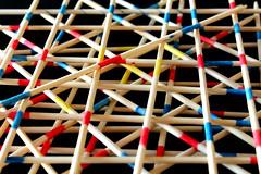 Patterns with Toys (AnimalAmanda) Tags: kids children fun sticks pattern child patterns games layers challenge pickupsticks creativephotography creativephoto