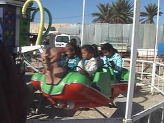 Kids Enjoying Rides at International Sahara Festival