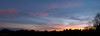 Panorama sunrise.