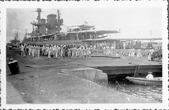 Excursion to and landed in Tandjong Priok in the Dutch East Indies on March 2nd 1936 (Karin Riper ( 24 April 2015)) Tags: old vintage indonesia java boat thirties asia indie past oud indonesie oude excursion dutcheastindies nederlandschindie tandjongpriok lightcruiserjava karinriper