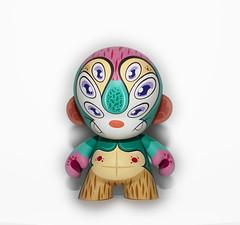 Adara (WuzOne) Tags: colors painting diy geek vinyl kidrobot collectible custom dunny adara vinyltoy munny artoy wuzone