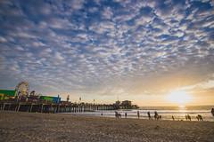 Los Angeles '14 - 098 (seango) Tags: california trip sunset vacation clouds losangeles nikon zoom dusk getaway santamonica santamonicabeach 2014 d600