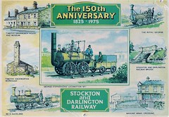 com poc D.2134L Stockton and Darlington 150th (robsue888) Tags: train postcard rail railway 1975 70s 1970s dateapproximate