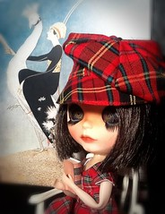 Blythe-a-Day March#12 Girl Scout#13 Sleep#22 Sherlock Holmes #30 Plaid: Scout