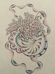 Tangle fun (toriasea) Tags: zia zentangle zendoodle zentangleinspiredart