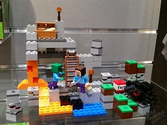Toy Fair 2015 LEGO Minecraft 42 (IdleHandsBlog) Tags: toys lego videogames buildingsets minecraft toyfair2015