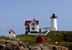 Nubble Lighthouse (Jacques Trempe (1,740,000 hits - Merci - Thank You) Tags: york lighthouse beach maine phare nubble
