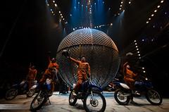 Helldriver - Biker im Kugel-Kfig (Joko-Facile) Tags: germany deutschland circus hannover flicflac zirkus tournee globeofspeed josepinillo helldriverbikerimkugelkfig hchststrafe25jahreflicflac