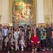 Mauricio Macri presenta a los artistas del show