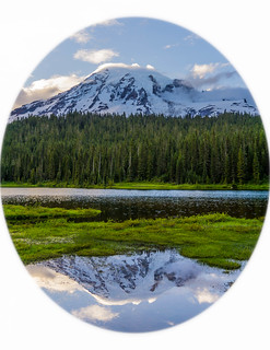 Mount Rainier at Reflection Lake