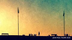 Deux bancs (JEAN PAUL TALIMI) Tags: texture nature solitude dune vague pyramide lignes bleue jeune landes exterieur biscarrosse talimi