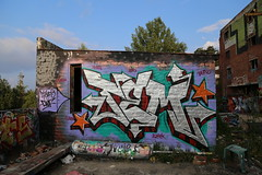 Freshness from Pispala (Thomas_Chrome) Tags: graffiti streetart street art spray can legal fame gallery hof pispala wall walls tampere suomi finland europe nordic chrome
