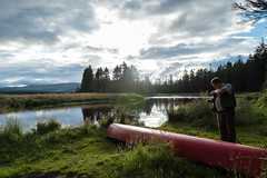 Scottish wildcamp (Ashcroft.Steven) Tags: camping dumfries dumfriesandgalloway england galloway reflection scotland unitedkingdom canoe fishing greatbritian mossdale newgalloway outdoors raidersroad river watersports