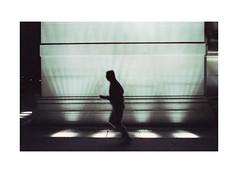 Light Jog (James Eleftherion) Tags: leica m3 homedeveloped streetphotography zeiss planar 50mm c41 tetenal kodak cinefilm iso800 nyc night midnight shapes lightandshade epson v600 manhattan film analog filmisnotdead summer geometry angles blacks washingtonsquarepark shadows fitness witchinghour