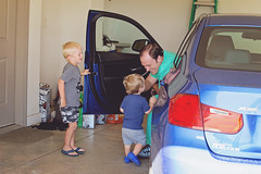 365 Project - July 14 (lupe1515) Tags: car project daddy aj dad brothers garage jim henry 365 greeting sons