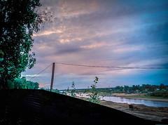 Закат в Кировском парке