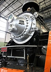 Portrait (Laurence's Pictures) Tags: ific train rail oregon heritage center sps 700 sp 4449 steam diesel locomotive railroad railway operating
