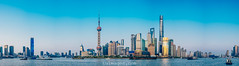 panorama view of shanghai the bund (Tu_images) Tags: lujiazui asia asian blue bund china chinese city finance financial landmark landscape pano panorama panoramic river shanghai sky skyline skyscraper skyscrapers tower urban urbanity waterfront