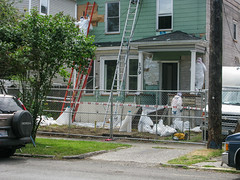 Demolition Series II (prima seadiva) Tags: demolition development 22nd asbestos