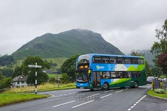 555, the route that keeps giving... (Vodka Burner) Tags: 10554 sn16onw stagecoachcumbrianorthlancashire stagecoach enviro400mmc helmcrag lakedistrict lakeland thelakes cumbria a591 grasmere route555 lakesconnection thelakesconnection