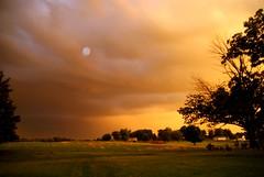 golden (LaLa83) Tags: sunset ohio summer storm nature weather clouds outdoors golden evening backyard dusk sony july alpha 2016 a230 fairfieldcounty ruralohio beautifulohio stoutsville ohiofoothills