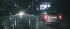 Rainy Night #2 (tomasz.cc) Tags: road camera city cinema reflection car rain night lights poland lightning pocket cracow slippery thunder blackmagic bmpcc
