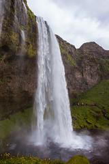 Seljalandsfoss (Lou Rouge) Tags: iceland islandia seljalandsfoss catarata cascada cascade water waterfall landscape paisaje cave
