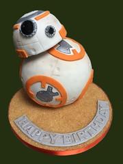 (rolipayne) Tags: cake starwars recent droid roli bb8
