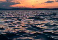_DSC0891_2 (Elii D.) Tags: blue sunset summer moon lake beach night stars star boat ship balaton