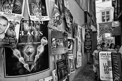 Child and art ! (poupette1957) Tags: art atmosphre affiche avignon black canon city deco exposition french grandangle humanisme imagesingulires life landscape man monochrome nnoiretblanc photographie people rue street town travel urban ville voyage