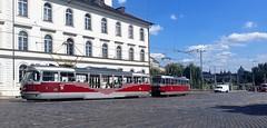 Tatrapkar (Peter ( phonepics only) Eijkman) Tags: city praha praag prague tatra tram transport trams rail rails railways strassenbahn streetcars check republic