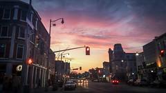Sundown downtown (@klawrenc) Tags: guelph
