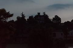 quella casa che sembra un castello (Clay Bass) Tags: 12800 nikon saluzzo buildings d750 hill natural night