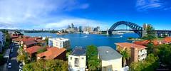 Beautiful Sydney Day (leonsidik.com) Tags: leon sidik iphone sydney australia kirribilli nsw newsouthwales sydneyharbourbridge ocean sea blue sky panorama seaview landscape