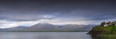 Snfellsnes (JoshyWindsor) Tags: coastal iceland canonef70300mmf456l houses landscape snfellsnes travel nature water mountains scenic twilight canoneos6d europe holiday panorama