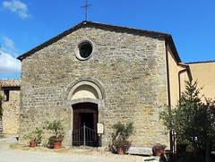 Chiesa di San MIchele Arcangelo nel Castello di Fighine (anto_gal) Tags: toscana siena valdorcia sancasciano bagni 2016 castello fighine panorama castle chiesa sanmichelearcangelo