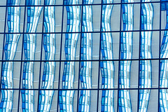 Lines and reflections (Jan van der Wolf) Tags: map15282vv lines lijnen lijnenspel playoflines interplayoflines architecture architectuur abstract voorburg windows ramen reflection reflectie reflections blue herhaling repetition